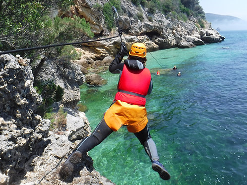 COASTEERING ARRÁBIDA | Discover The Nature | Active Tourism
