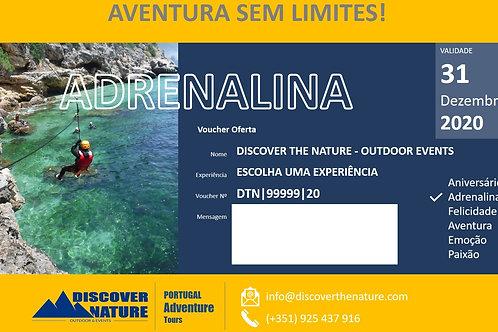E-VOUCHER ADRENALINA   Discover The Nature