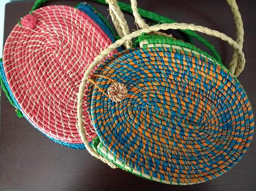 Hand-woven Crossbody Bag