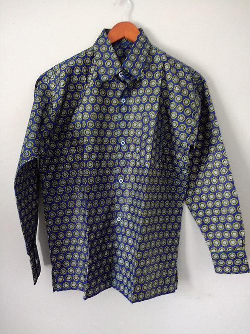 Long Sleeve African Men's Shirt