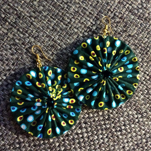 Traditional Cloth Earrings
