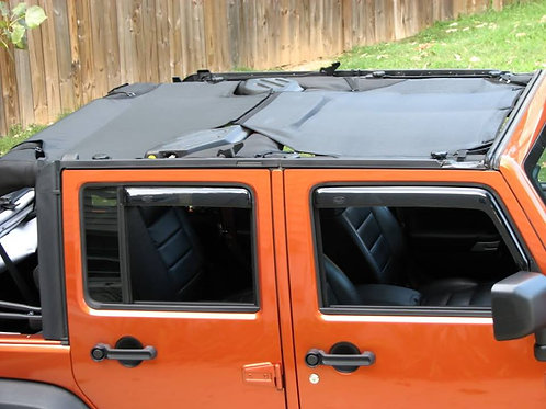 JMG Designs JKU Rear Screen Top