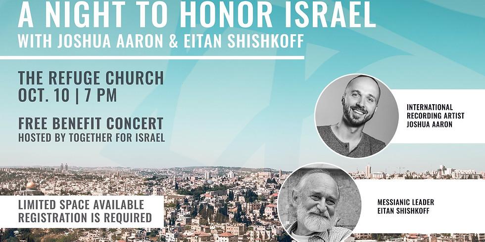 A Night to Honor Israel - Charlotte NC