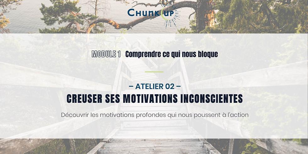 Atelier 02 - Creuser ses motivations inconscientes