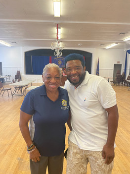 American Legion  Jackie Robinson  Post 252 Lunch and Learn August 7, 2021