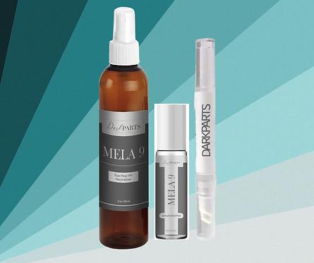 Mela9 Salicylic Acid Roll on Hyperpigmentation Pigment Peel Kit