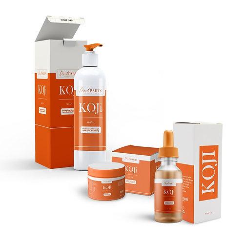 KOJi Max Kojic Acid Full Body Kit