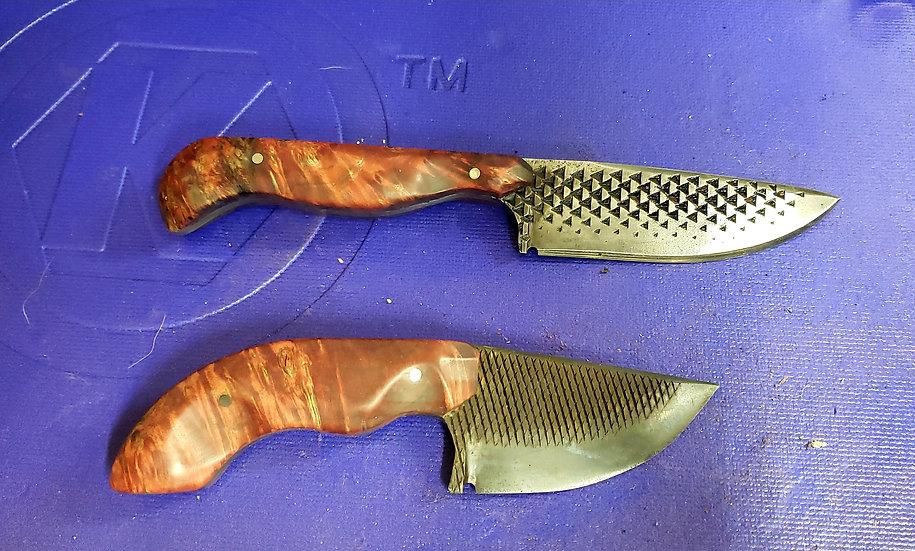 Matching Pair Rasp Knives