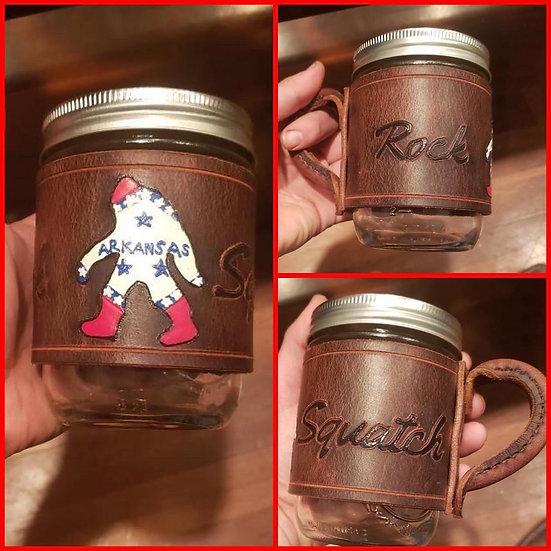 Custom Leather Coffee Mug