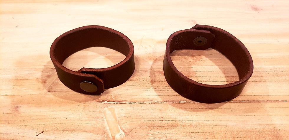 Single Band Leather Bracelet