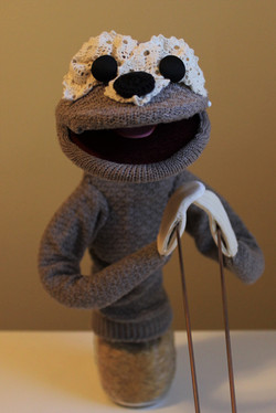 Hand and Rod Puppet - Sloth