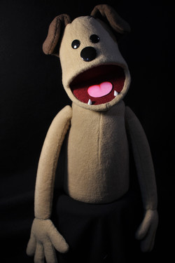 Hand and Rod Puppet - Dog
