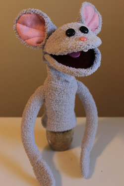 Hand and Rod Puppet - Mouse