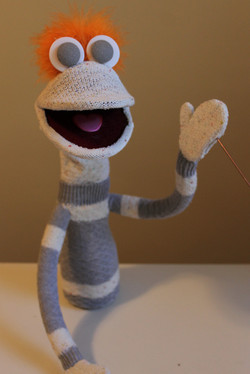 Hand and Rod Puppet