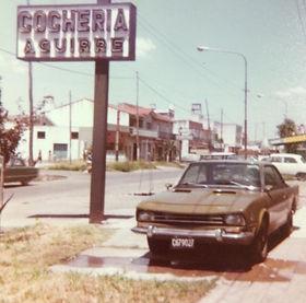 Cocheria Aguirre SRL en el año 1980
