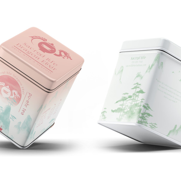 Sacred Life Tea Packaging
