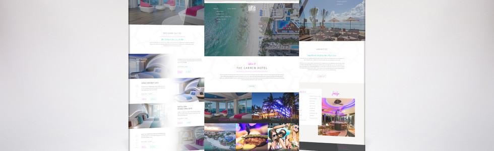 Carmen Hotel Website