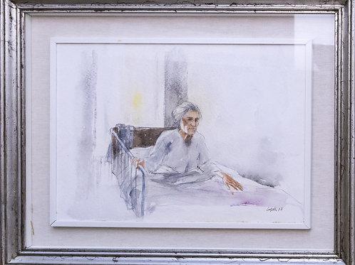 Giovanni CAPPELLI (Cesena, 1923 – Milano 1994) - acquerello su carta