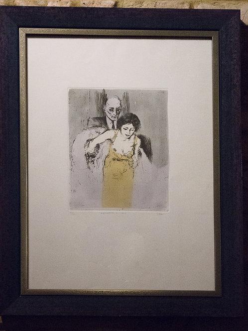 Alberto SUGHI, litografia
