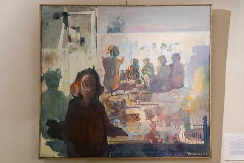 """Luciano NAVACCHIA (Cesena, 1946)  """"Ultima spiaggia"""", 2009"""
