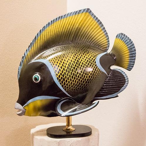 MANGANI (Firenze) - pesce in porcellana