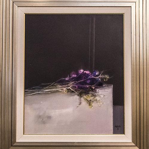 "Giovanni CAPPELLI ""Fiori"", 1971, olio su tela"