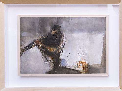 Giovanni CAPPELLI, Senza titolo, olio su tela, 1962,