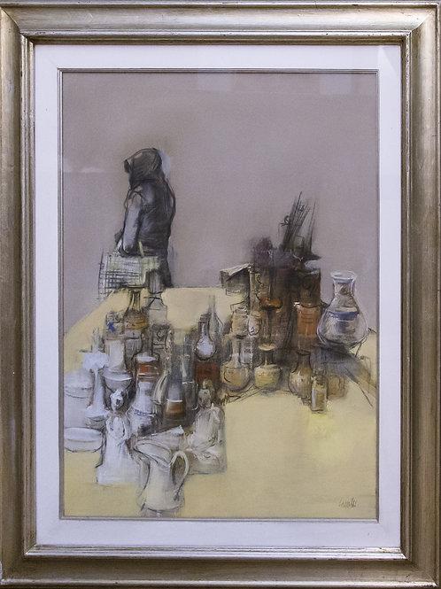 """Giovanni CAPPELLI """"Interno con oggetti"""""""