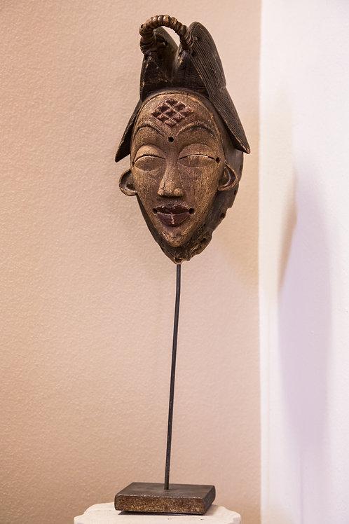 Maschera tribale in legno, anni '30 PUNU