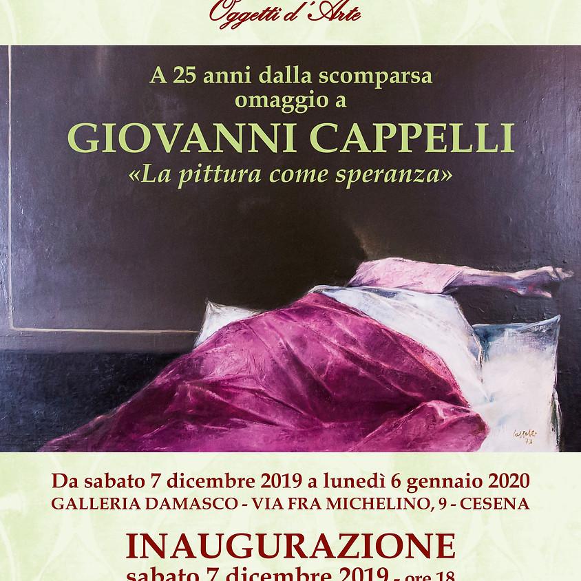 """Omaggio a Giovanni Cappelli """"La pittura come speranza"""""""