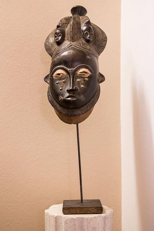 Maschera tribale in legno, anni '20 BAULE'