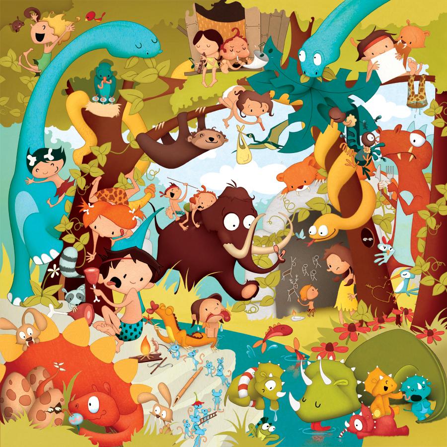 Alphaventure - La jungle