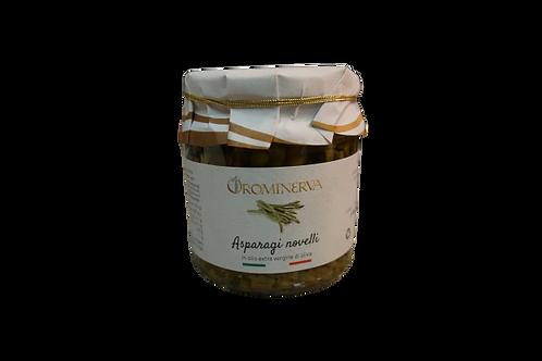 Asparagi novelli in olio extravergine di oliva