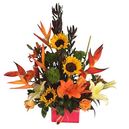 Acuarela de Flores