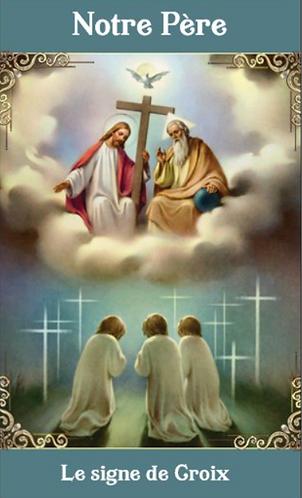 Carte de prière -  Notre-Père