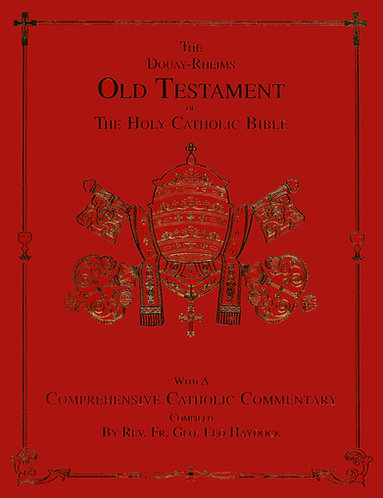 Premium Books- George Haydock's Catholic Bible Commentary
