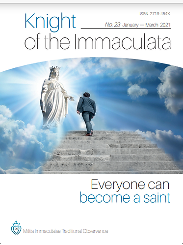 """""""Knight of the Immaculata""""  No. 23"""
