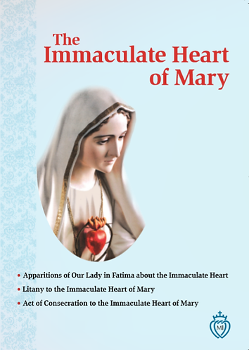 The Immaculate Heart of Mary- Revised
