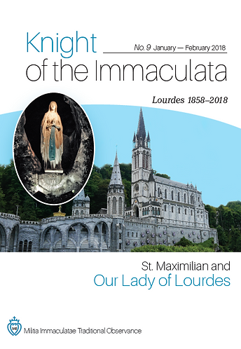 """""""Knight of the Immaculata""""  No.9"""