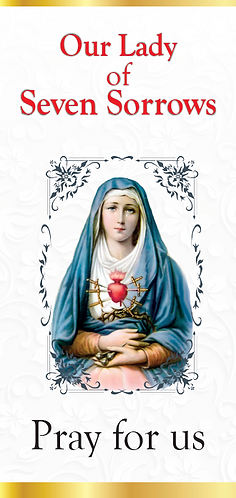 Flyer- Our Lady of Seven Sorrows