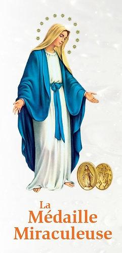 Dépliants-Médaille Miraculeuse