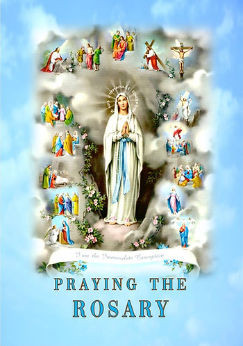 PRAYING THE ROSARY A6- Pocketsize
