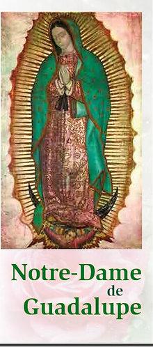 Dépliants - Notre-Dame de Guadalupe