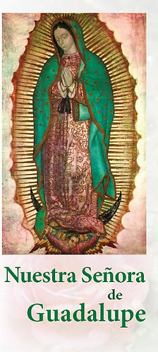 """Folleto -  """"Nuestra Señora de Guadalupe"""""""