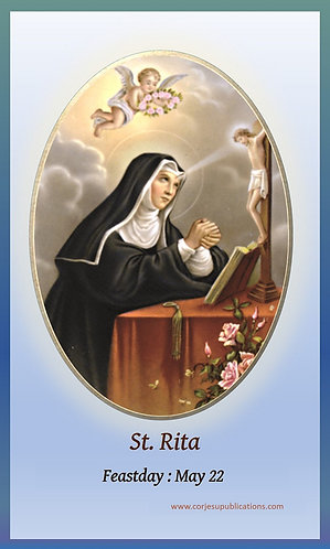 PRAYER CARD- St.Rita