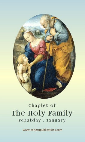 PRAYER CARD -Chaplet of The Holy Family