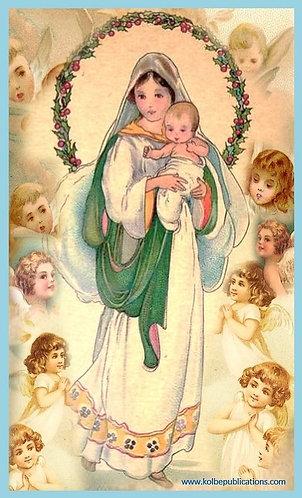 Children Prayer Card - Set of 6 Children's prayer cards