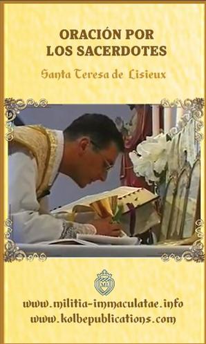 Tarjetas de oración - Oración por los Sacerdotes