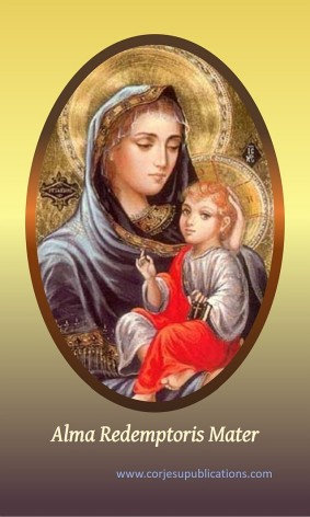 PRAYER CARD -Alma Redemptoris Mater