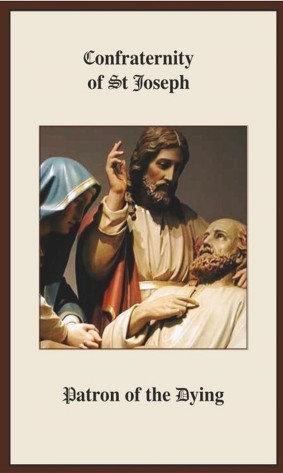 Prayer Card -St Joseph Confraternity Prayer for the Dying